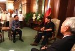 Đại sứ Trung Quốc dồn dập gặp tân Tổng thống Philippines