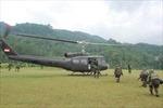 Rơi máy bay quân sự Indonesia