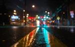 Chiều tối Hà Nội mưa dông