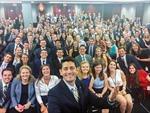 Hai bức ảnh selfie gây bão Quốc hội Mỹ