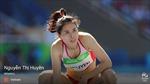 Nguyễn Thị Huyền xếp áp chót ở đường chạy 400m vượt rào