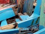 Kịp thời cứu 4 ngư dân tàu cá bị chìm trên biển