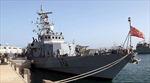 Tàu Iran áp sát tàu quân sự Mỹ gần eo biển Homuz