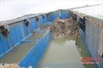 Giám định chất thải do tàu xả xuống biển Nghệ An