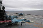 Lên đường diệt IS, tàu sân bay Nga được trang bị tận... bánh lái