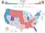 Bản đồ bầu cử đảo lộn, khả năng Donald Trump chiến thắng?