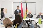 Đức đánh giá cao quan hệ hợp tác với Việt Nam