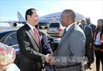 Chủ tịch nước bắt đầu chuyến tham dự Hội nghị Cấp cao Pháp ngữ lần thứ 16