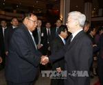 Báo chí Lào đưa tin đậm nét về chuyến thăm của TBT Nguyễn Phú Trọng