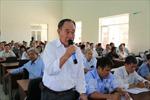 Đại biểu Quốc hội tỉnh Đồng Nai tiếp xúc cử tri