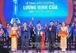 Trao giải thưởng Lương Định Của cho thanh niên nông thôn tiêu biểu