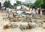 Khắc phục sự cố vỡ kênh thoát lũ Đường Đệ ở Nha Trang
