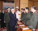 Tổng Bí thư Nguyễn Phú Trọng: Xây dựng lực lượng công an nhân dân thật sự vững mạnh