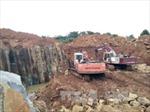 Đắk Nông chỉ đạo xử lý triệt để vụ khai thác đá không phép do TTXVN phản ánh