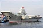 Tàu sân bay Liêu Ninh thử vũ khí ở Biển Đông