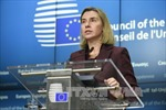 Hội nghị ngoại trưởng EU tập trung thảo luận tình hình Syria và Trung Đông