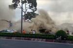 TP. Hồ Chí Minh: Cháy lớn thiêu rụi 8 xe máy, 5 người mắc kẹt được cứu thoát