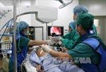 Lần đầu đặt stent thực quản qua nội soi cho bệnh nhân ung thư thực quản giai đoạn cuối