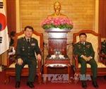 Đoàn Tham mưu trưởng Bộ Tư lệnh An ninh quốc phòng Hàn Quốc thăm Việt Nam