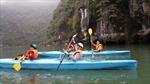 Bộ VHTTDL đề nghị cho tiếp tục dịch vụ chèo thuyền kayak trên vịnh Hạ Long