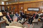Đại sứ Phạm Quang Vinh thăm Học viện Quân sự Hoa Kỳ West Point