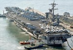 Nhật-Mỹ tập trận chung với tàu sân bay Carl Vinson
