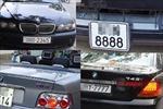 Biển số xe đẹp được coi là tài sản công