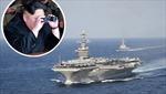 Tàu sân bay USS Carl Vinson đã vào vị trí có thể vươn tầm bắn tới Triều Tiên