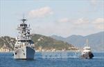 Đội tàu Hạm đội Thái Bình Dương (Nga) cập cảng Cam Ranh