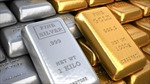 Giá vàng, bạc thế giới đi xuống
