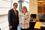Argentina trao tặng Huân chương cho Đại sứ Việt Nam