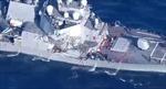 Chuyên gia: Tàu khu trục Mỹ USS Fritzgeral 'tàn phế' sau khi bị tàu hàng Philippines đâm móp