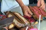 Gạo nếp đổi màu bất thường sau khi chế biến