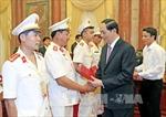 Chủ tịch nước gặp mặt Đoàn đại biểu thương binh, thân nhân liệt sĩ lực lượng Cảnh sát nhân dân