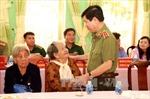 Lãnh đạo Bộ Công an tri ân gia đình chính sách tỉnh Sóc Trăng