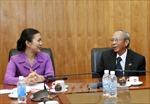 Lãnh đạo Mặt trận Tổ quốc Việt Nam tiếp Hội đồng Tinh thần Tôn giáo Baha'i