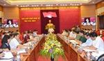 Đồng chí Phạm Minh Chính khảo sát tình hình hệ thống chính trị tại tỉnh Hòa Bình
