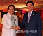 Hội nghị AMM 50: Phó Thủ tướng, Bộ trưởng Ngoại giao Phạm Bình Minh tiếp xúc song phương