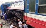 Thông tuyến đường sắt Bắc - Nam sau sự cố tàu trật bánh tại Nghệ An
