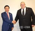 Việt Nam tăng cường hợp tác với các nước và EU