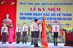 Kỷ niệm 55 năm ngày Bác Hồ về thăm trường Thanh niên Lao động XHCN Hòa Bình