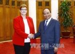 Thủ tướng Nguyễn Xuân Phúc tiếp Bộ trưởng Quốc phòng Australia