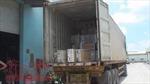 Bắt xe container chứa hàng trăm thiết bị điện cấm nhập khẩu