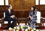 Phó Chủ tịch nước tiếp Thống đốc tỉnh Fukushima, Nhật Bản
