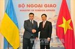 Phó Thủ tướng Phạm Bình Minh hội đàm với Bộ trưởng Ngoại giao Ukraine