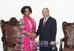 Thủ tướng Nguyễn Xuân Phúc tiếp Bộ trưởng Ngoại giao và Hợp tác Cộng hòa Nam Phi