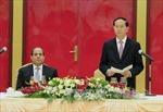 Chủ tịch nước Trần Đại Quang chiêu đãi trọng thể Tổng thống Ai Cập Abdel Fattah Al Sisi
