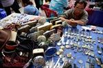 Đi chợ đồ cổ ở Sài Gòn dịp cuối tuần