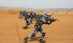 Lần đầu tiên Trung Quốc tập trận bắn đạn thật tại căn cứ quân sự ở châu Phi