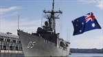 Tàu chiến Australia sẽ được trang bị hệ thống phòng thủ Aegis